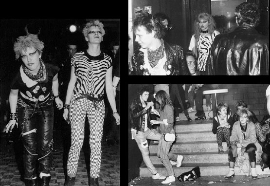 Photos vom 'Swiss Punk Now' 1979
