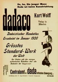 Aus 'Der Dada' Nr.2