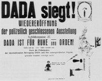 Plakat für die Wiedereröffnung der Ausstellung