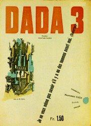Umschlag für die Zeitschrift 'Dada' Nr.3