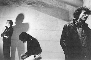 GRAUZONE 1980 (von links nach rechts) Marco, G.T., Martin