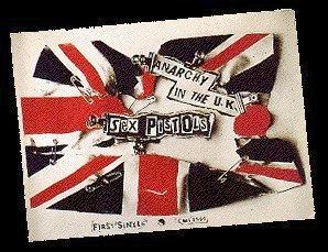 Jamie Reid's 'Anarchy Flagge'