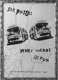 Unused artwork for 'Pretty Vacant', July 1977