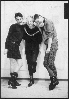 Astrid, Klaudia, Marlene