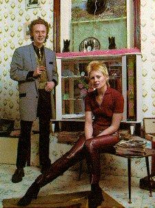 Malcolm McLaren und Vivienne Westwood im 'Let it Rock' Dez.1971